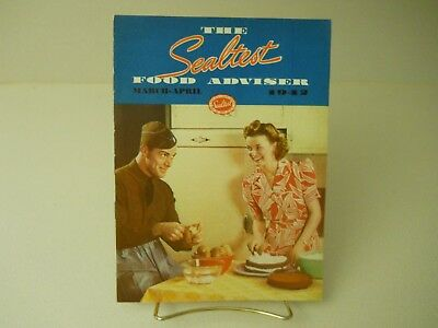 The Sealtest Food Adviser March-April 1942 Recipes Book 11 Pages