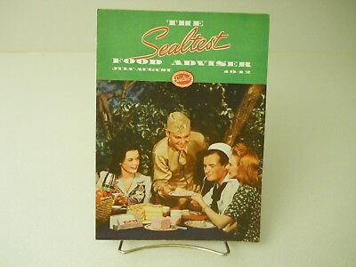 The Sealtest Food Adviser July-August 1942 Recipes Book 11 Pages