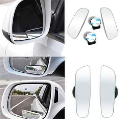 2PCS Universal 360° Wide Angle Convex Rear Side View Blind Spot Mirror FOR Car