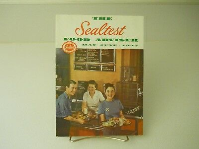 The Sealtest Food Adviser May-June 1945 Recipes Book 11 Pages