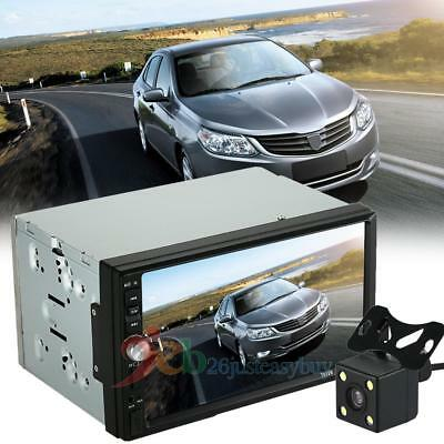 """7"""" 2 Din HD Car Radio MP5 Player Bluetooth Multimedia with Rear View Camera"""
