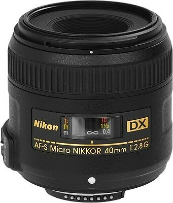 Nikon AF-S DX Micro Nikkor 40mm F2.8G Macro Lens 2200, London