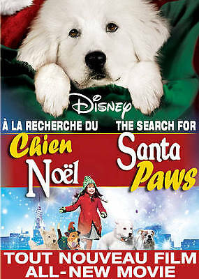 The Search for Santa Paws DVD 2010 New Disney Made In USA Widescreen 96 Mins