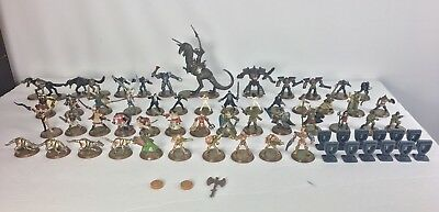 Heroscape Figure lot Characters HUGE set of game pieces army animals 64 pieces