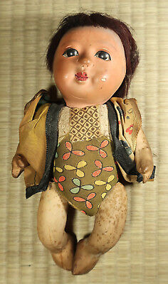 Small Child's Doll / Japanese / Antique