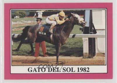 1991 Horse Star Kentucky Derby #108 Gato del Sol MiscSports Card