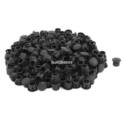 200 Pcs SKT-8 Plastic 8 mm Dia Snap in Type Locking Hole Connectors Button Cover