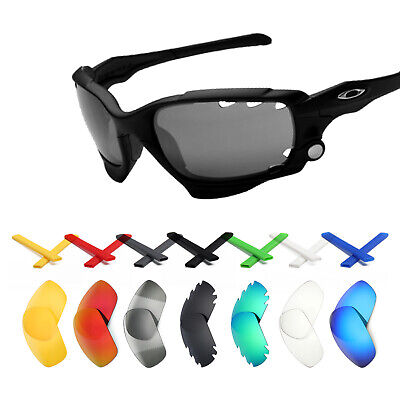 8b60fe4f25b Mryok Replacement Lens and Rubber Kit for-Oakley Jawbone Sunglasses - Opt.
