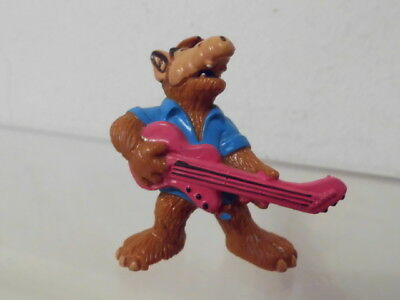 Alf Bully W.Germany Figur 1988 ca. 5,0 cm: als Rocker mit Gitarre Let´s party
