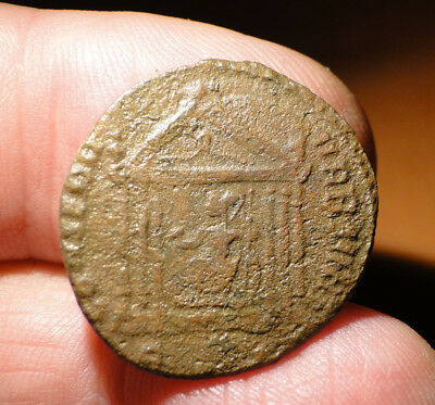 Maxentius AE Bronze Follis, needs further research to confirm detail