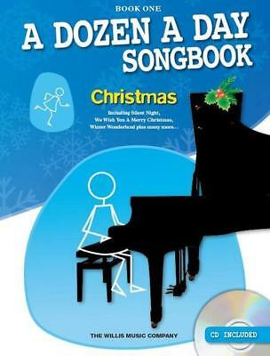 A Dozen A Day Christmas Songbook  (Bk.1) +CD We Wish You A Merry Christmas 97817