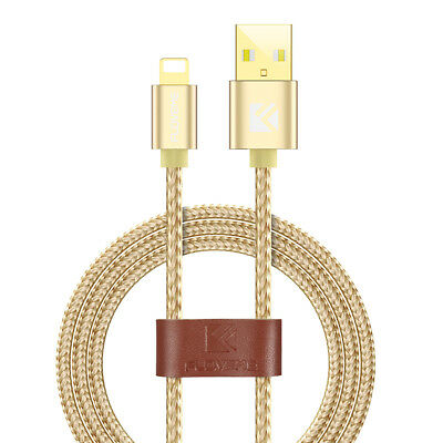 Strong Braided Nylon Fast USB for Lightning Data Sync Charger Charging Cable