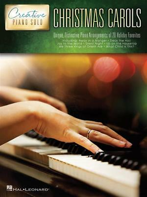 Christmas Carols, Creative Piano Solo, 20 Holiday Favourites 9781495026560