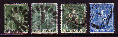 Barbados. Qv Early Selection. Used.