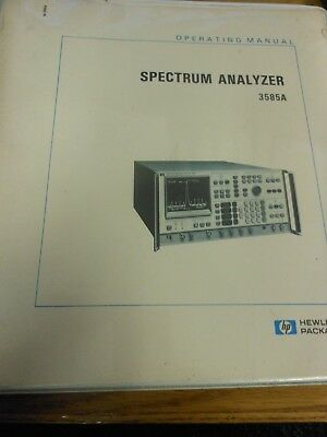 HP/Agilent 853A Spectrum Analyzer Display Operation and Service Manual Loc: 365