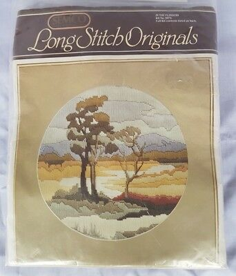 Semco Long Stitch In The Flinders Kit No 3073 Needlework kit, embroidery