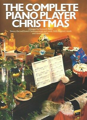 The Complete Piano Player Christmas, Arr.Kenneth Baker, 9780711907539