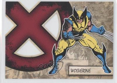 2011 Upper Deck Marvel Beginnings Series 1 X-Men Die-Cuts #X-43 Wolverine 0p3
