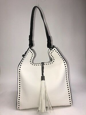White &Green,  PU Leather, High Quality, Smart, Beautiful Tote / Shouolder Bag