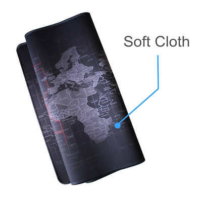 Special-Textured XL World Map Patterned Gaming Mouse Pad Mat 40*90*0.3CM
