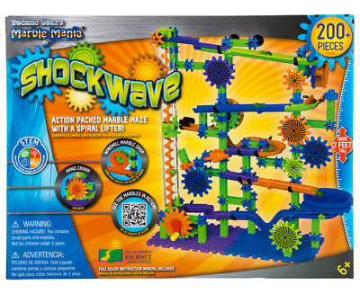 Techno Gears Marble Mania Shockwave Playset