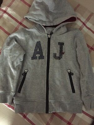 Boys Armani Jeans Size 6 Years Hoodie