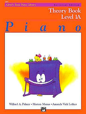 Alfred's Basic Piano Theory Book Level 1A, Palmer/Manus/ Lethco 6491