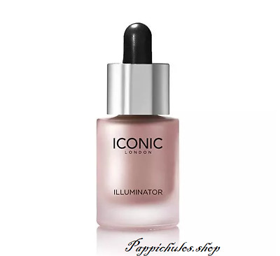 ICONIC LONDON Liquid Higlighter In Shine Original Shine Glow Three Color Face Ma