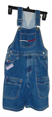 Pre Owned Tommy Hilfiger Shortalls Size 6 Child Fair Condition