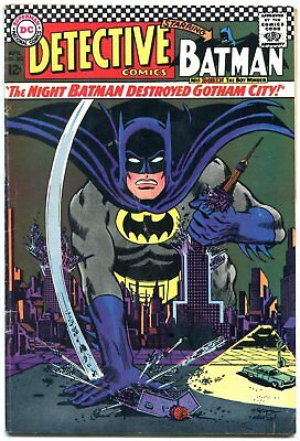 DETECTIVE COMICS #362 1967 Riddler DC Silver Age-BATMAN AND ROBIN fn