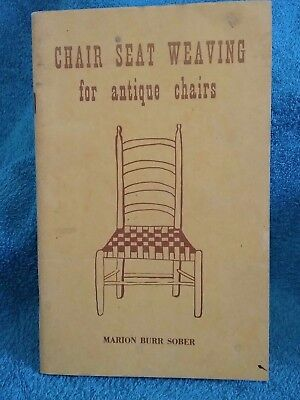 Chair Seat Weaving For Antique Chairs By Sober loc.069