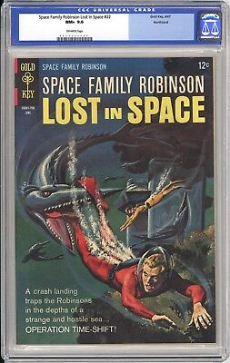 Space Family Robinson #22 Cgc Nm+ 9.6 - Northland Pedigree - Very Old Label