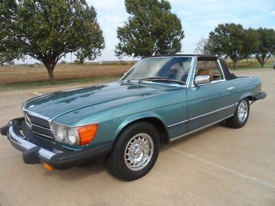 1981 Mercedes-Benz 300-Series Palamino Leather