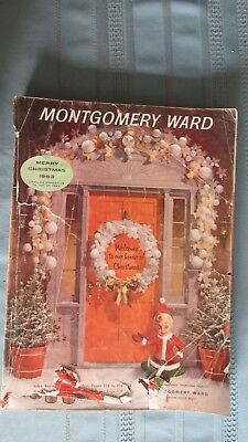 1963 Montgomery Ward Christmas Catalog-Toys-Trains-Womans & Mens Wear-Jewelry