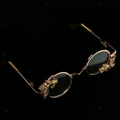 Cool Gold Carved All Trim Glasses For BJD 1/3 SD17 Uncle Doll Accessories