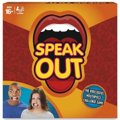 Brand New Speak Out Mouthpiece Board Party Game Xmas Gift Family Game Kids New