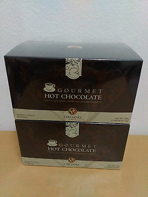 2 Boxes Organo Gold Hot Chocolate With Ganoderma Lucidum - Express Delivery