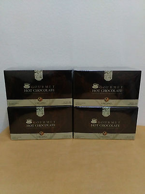 4 Boxes Organo Gold Hot Chocolate With Ganoderma Lucidum - Express Delivery