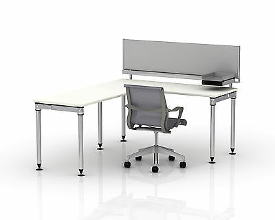 HERMAN MILLER Sense Desking System EZ6020 Privacy Panel with Toolbar *NEW* 48""