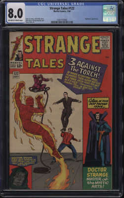 Strange Tales #122 CGC 8.0 OW/W Pages Nightmare appearance