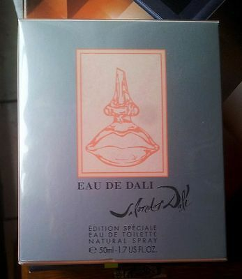 SALVADOR DALI - EAU DE DALI LIMITED EDITION 50ml EdT Eau De Toilette Neu NP~60€