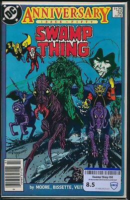 Dc Comics Swamp Thing #50 1986 Cbcs Raw Grade 8.5