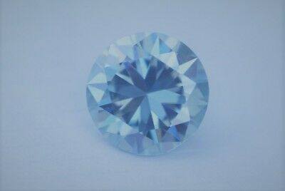 Diamant - Brillant - Diamond VVS 1 Fancy Blue 0,95 Ct. 5,35 mm