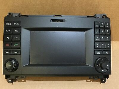 vw crafter ry2560 bluetooth stereo radio sd mp3 head unit. Black Bedroom Furniture Sets. Home Design Ideas