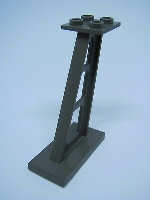 Lego 1x Support Tail Stanchion 2x4x5 4476b Red//Rouge//Rot