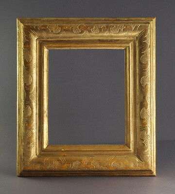 Antique Frame, South Germany, 19th century - carved and gilded      (# 7845)
