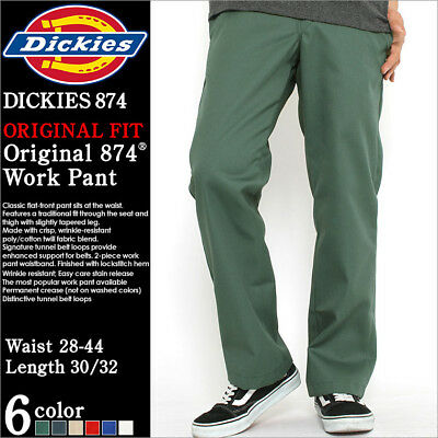 Dickies 874 Original Classic Work Pants Various Colors & Sizes *Free US Shipping