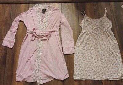 Motherhood nursing nightgown and robe Oh Baby Small