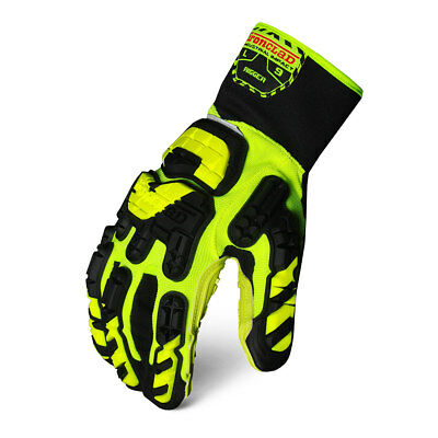 Ironclad Vibram 3-D Beveled Rope Channel Rigger Gloves - VIB-RIG