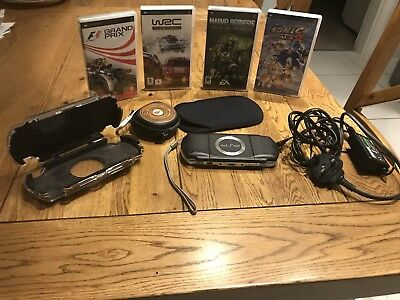 Sony PSP Console Bundle With Games